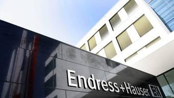 Der Firmensitz der Endress+Hauser in Reinach.