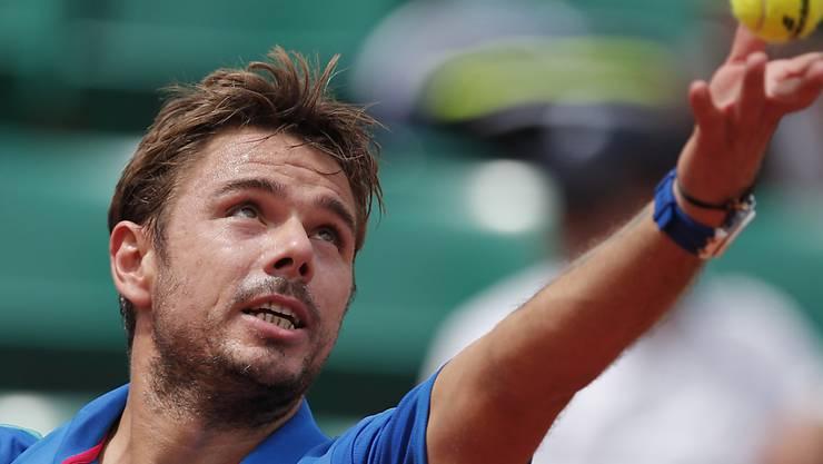 Gelungener Einstieg ins French Open: Stan Wawrinka