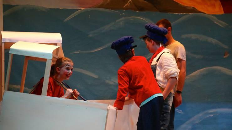 Im Kindertheater «Kims Abenteuer» ist die Hauptfigur ein Mädchen.