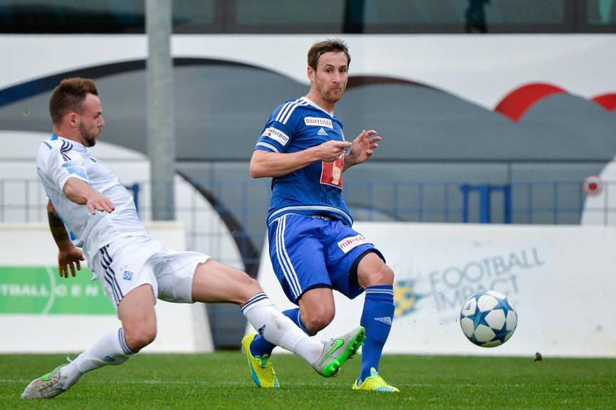 FCL-Verteidiger Jerome Thiesson im Testspiel gegen Dynamo Kiew.