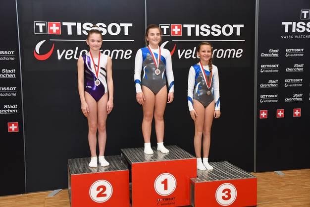 U13 National Girls Leonie Schneider 1. Platz und Fiona Buser 3. Platz
