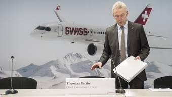 Swiss-Chef Thomas Klühr kündigt Massnahmen an.