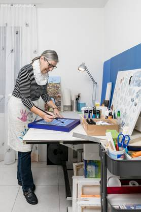 «Viele haben nicht gewusst, dass ich male», so Lehner.