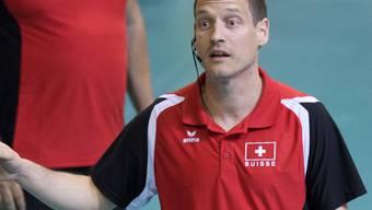 Timo Lippuner, der Baumeister des erfolgreichen Schweizer Volleyball-Nationalteams der Frauen, tritt nach der EM von seinem Posten als Nationaltrainer zurück