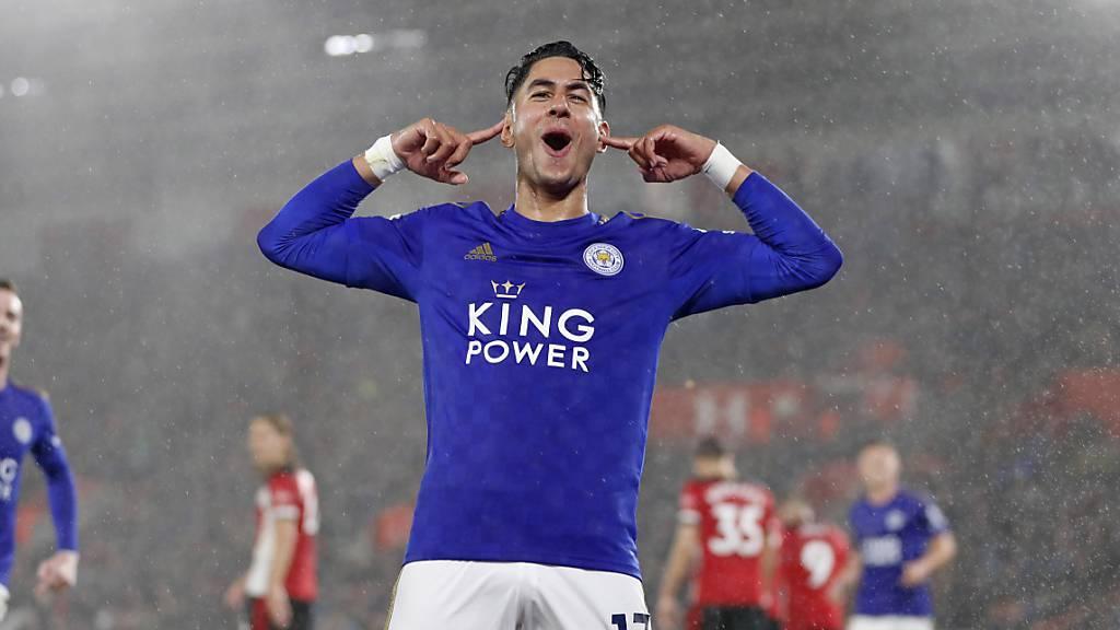 Leicester City schreibt in Southampton Geschichte