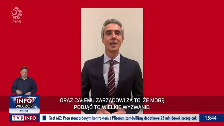 Paulo Sousa richtet seine ersten Worte als polnischer Nationaltrainer an die Fans.