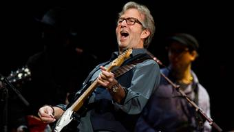 Clapton an einem Konzert im Madison Square Garden in New York. (Archivbild)