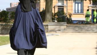 Belgisches Parlament will Burkas verbieten (Archiv)