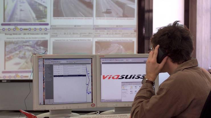 Blick in das Büro von Viasuisse in Biel.