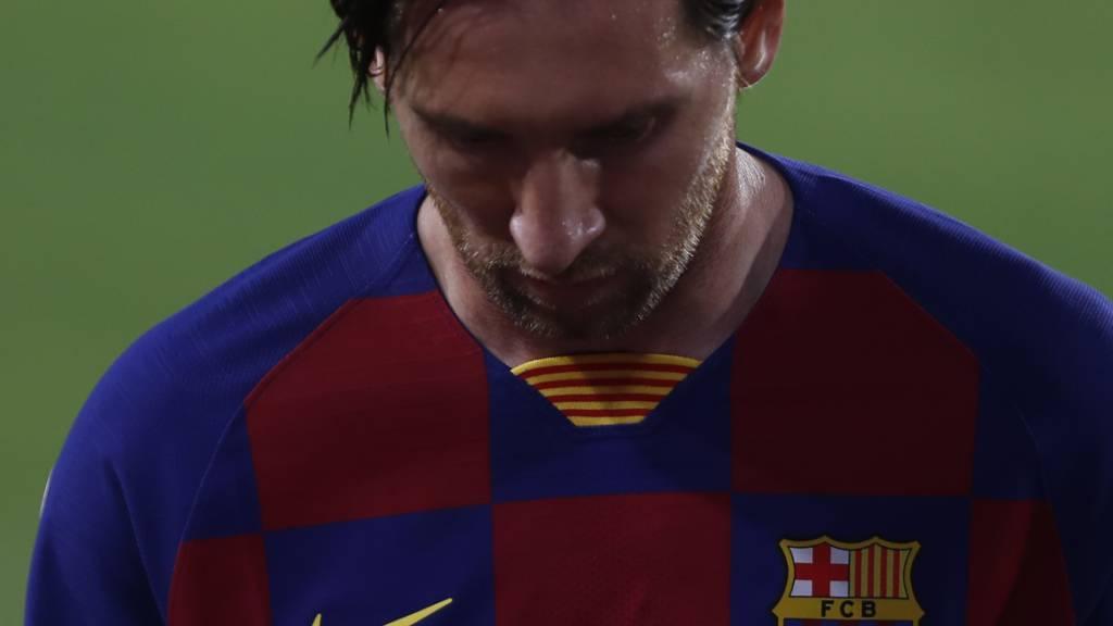 Lionel Messi kann in diesem Jahr nicht sein eigener Nachfolger als Weltfussballer werden