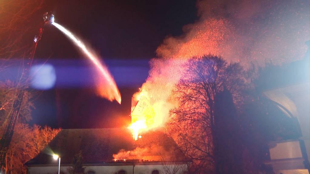 Sondersendung: Kirchenbrand Herzogenbuchsee