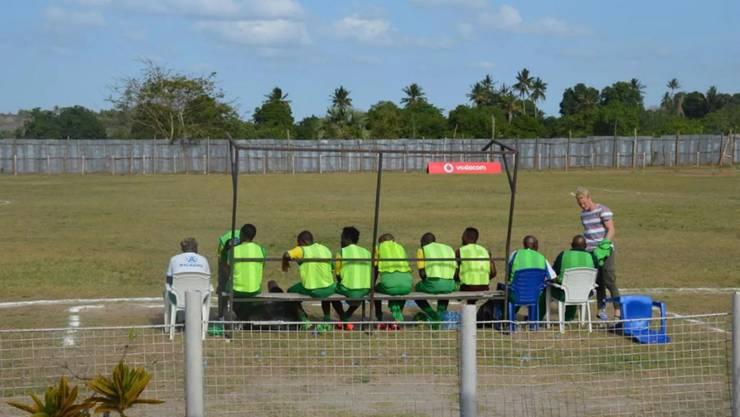 Tim Jost ist als Trainer mit Toto African in der höchsten Liga Tansanias engagiert.
