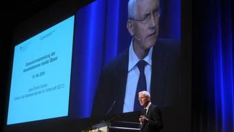 Gastreferent: Staatssekretär Jean-Daniel Gerber gab eine Einschätzung der wirtschaftlichen Lage.