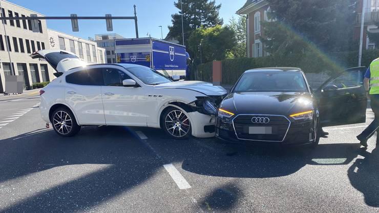 Die Unfallverursacherin musste den Führerausweis abgeben.