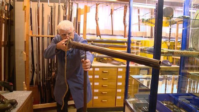 Traditionelle Berufe: Der Waffensammler