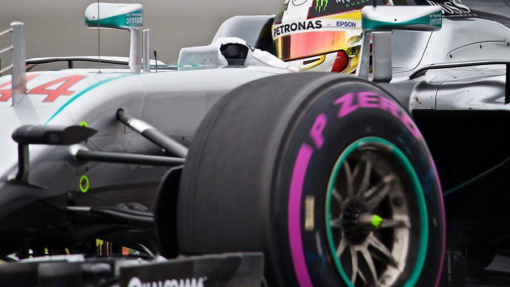 Lewis Hamilton erobert in Montreal zum vierten Mal die Pole-Position