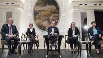 CVP präsentiert mögliche Bundesratskandidaten