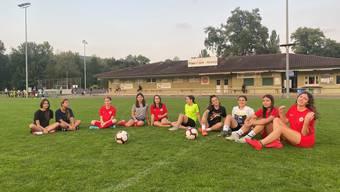 Mädchenfussball im Limmattal