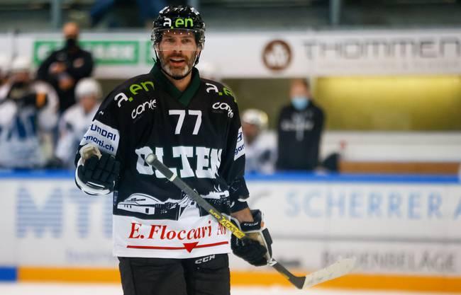 Das «C» für Captain auf der Brust verloren und deutlich weniger Eiszeit: Philipp Rytz befindet sich nach überstandenen Coronawochen auf Formsuche