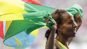 Sieg über 5000 m im Letzigrund: Mesert Defar