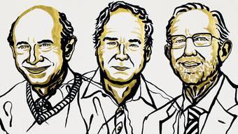 Harvey J, Alter, Michael Houghton und Charles M. Rice, Nobepreisträger für Medizin 2020