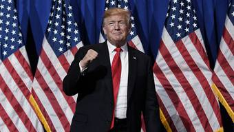 """Bedroht nie wieder die USA"": US-Präsident Donald Trump. (Archivbild)"