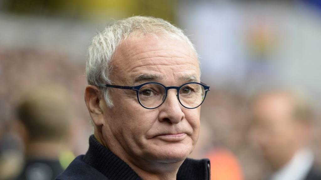 Claudio Ranieri übernimmt den Trainerposten bei Sampdoria Genua