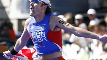 Tim Don, hier bei seinem WM-Sieg 2006 in Lausanne, gab nach einer Genicksverletzung ein respektables Comeback