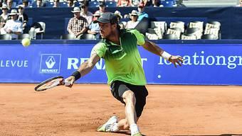 Juan Monaco steht bei den Suisse Open in Gstaad im Final