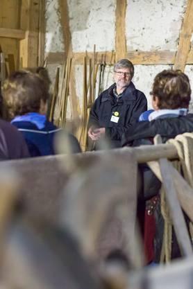 «Das Dorfmuseum» - Führung mit Herbert Schwitter Impressionen vomKulturerbetag in Schneisingen