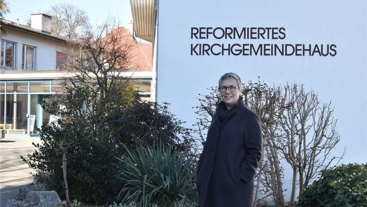 Seit Anfang des Jahres ist Ana G. Voellmin neue Kirchenpflege-Präsidentin der Kirchgemeinde Baden.