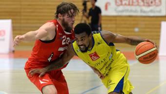 Chris Jones war im Spiel gegen Fribourg die überragende Figur bei den Starwings.