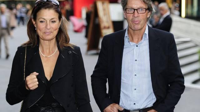 Bernhard Russi mit seiner Ehefrau Mari (Archiv)