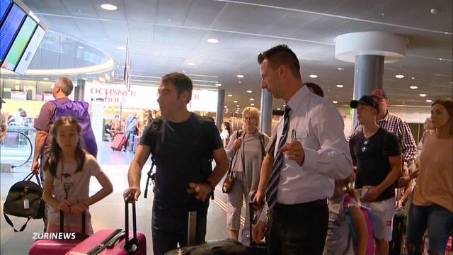 Grossandrang am Flughafen: Über 100'000 Passagiere an einem Tag