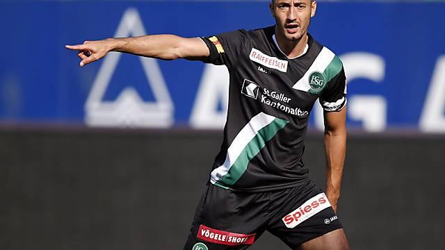 Stéphane Nater verlässt den FC St. Gallen