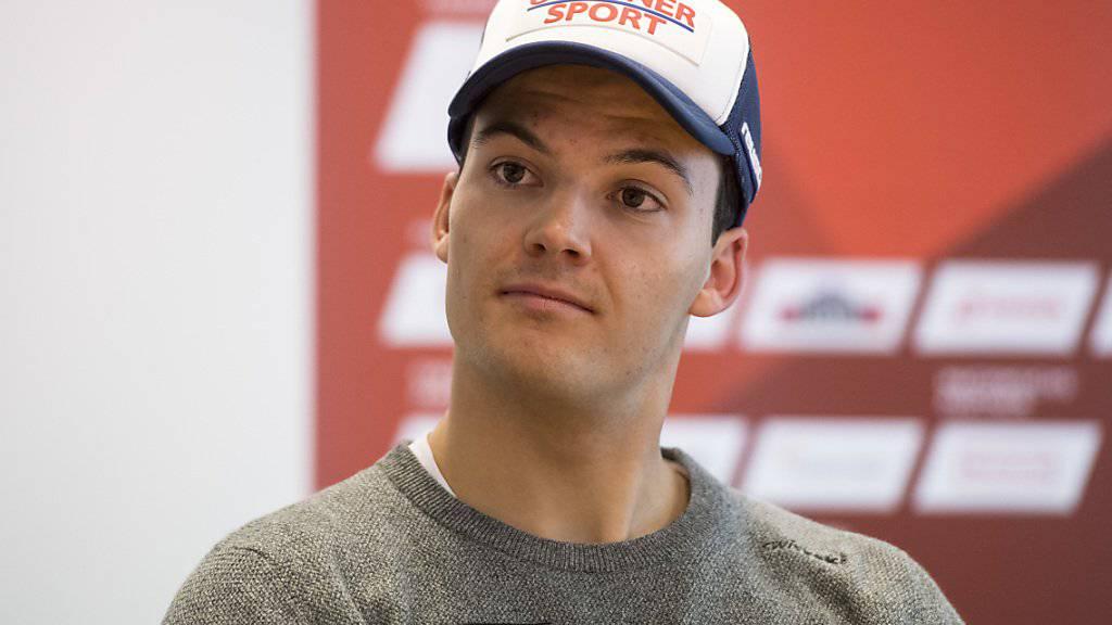 Loïc Meillard - mit 22 Jahren der jüngste der aufstrebenden Schweizer Slalom-Cracks