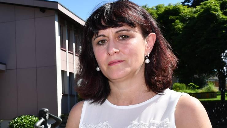 Schulleiterin Patricia Segura