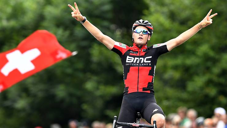 Neu bei AG2R: Der Schweizer Strassenmeister Silvan Dillier verlässt das Team BMC