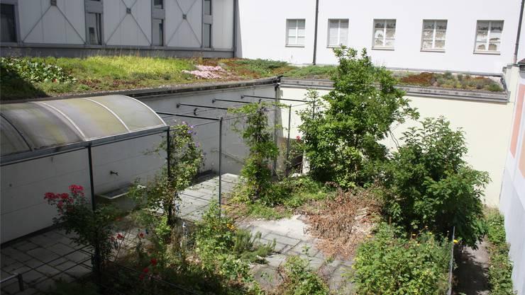 Im ehemaligen Hof des Seraphischen Liebeswerks, nun im Besitz der Gurzelngasse 14 AG, will Mieter Manor seine ringsum liegenden Geschäftsräume erweitern – was für die Kantonsarchäologie interessant ist.