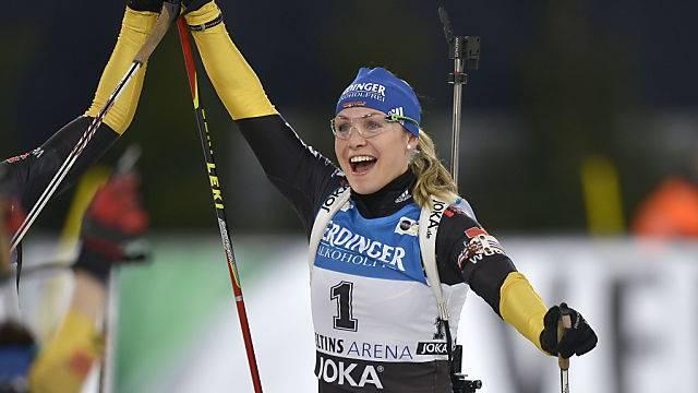 Deutschlands Ex-Biathlonstar Magdalena Neuner wird erstmals Mutter