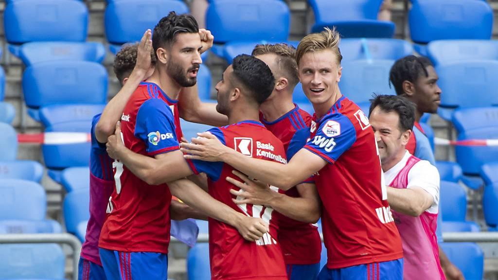 Spätes Glück für den FC Basel