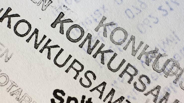 Die Zahl der Konkurse hat zugenommen in Deutschland (Symbolbild).