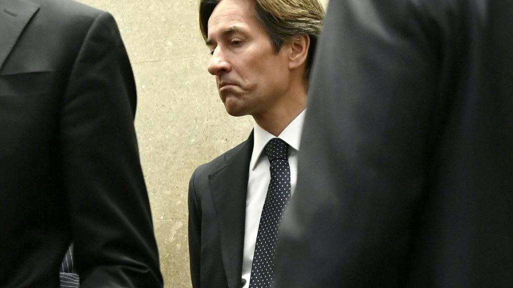 Karl-Heinz Grasser am Dienstag vor Gericht.