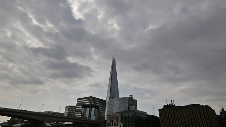 Das höchste Gebäude Westeuropas: The Shard. (Archivbild)