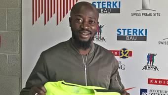 Garra Dembélé spielt neu beim FC Solothurn.