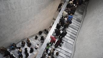 Der Besuch in einem Museum zählt zu den Lieblingsbeschäftigungen der Schweizerinnen und Schweizer.