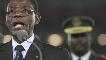 Äquatorialguineas Präsident Teodoro Obiang Nguema. (Archivbild)
