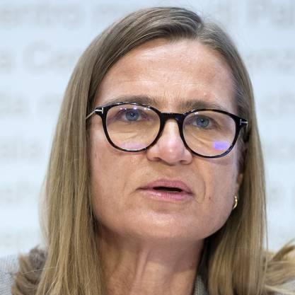 Virginie Masserey, Leiterin Sektion Infektionskontrolle, BAG .