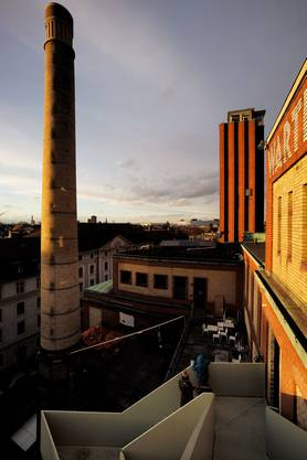 Das Silo, in dem einst das Malz zum Brauen des Biers aufbewahrt wurde, war seit der Eröffnung des Werkraum Warteck pp im Jahre 1993 ungenutzt.