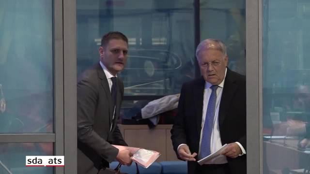 Johann Schneider-Ammann äussert sich zu seinem Rücktritt